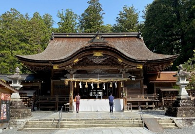 パワースポット散策と出会いを楽しむ◆神社で縁結び@小国神社