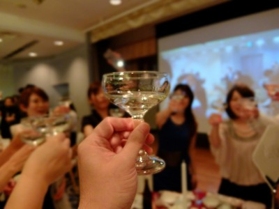 Christmas party in 中洲